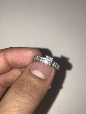 Wedding ring 10k white gold for Sale in Phoenix, AZ
