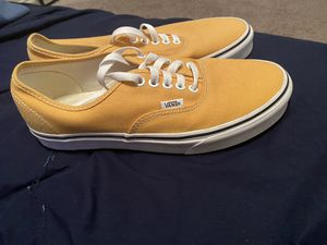 yellow vans size 8.5 men's for Sale in San Antonio, TX