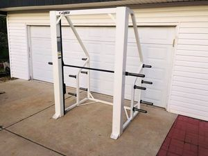 Smith Machine - Cybex - Commercial Grade Equipment - Work Out - Gym - Bench Press - Weight Tree for Sale in Downers Grove, IL