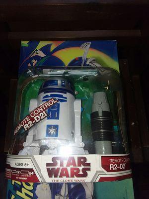 Remote control R2D2 2007 Clone wars. Hasbro for Sale in Louin, MS