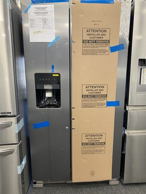 NEW ! WHIRLPOOL SIDE BY SIDE STAINLESS STEEL for Sale in Santa Ana, CA