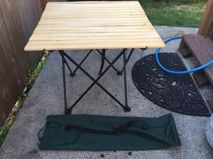 Folding camper table for Sale in Seattle, WA