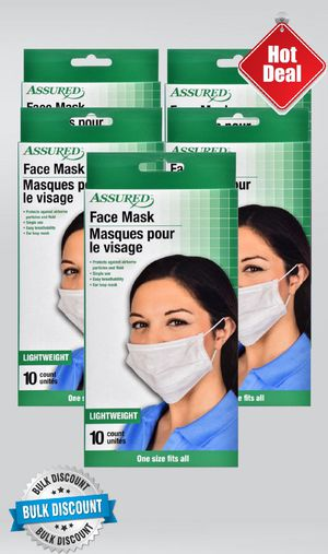 Assured Face Mask 10pk for Sale in Sacramento, CA