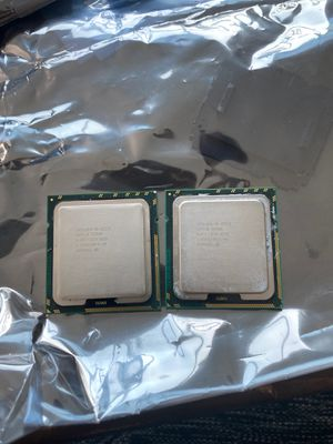 $10/pair Dual Intel Xeon x5570 processors for Sale in Los Angeles, CA