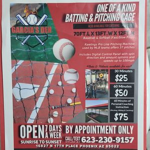Batting and Pitching Cage!! for Sale in Phoenix, AZ
