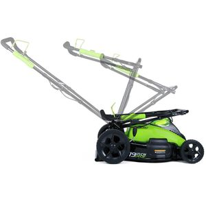 19-Inch 40V Cordless Lawn Mower, Battery Not Included, Garden Outdoor Power Equipment for Sale in Cypress, CA