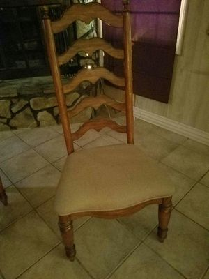 Set of (4) Kitchen table chairs for Sale in Milton, FL