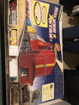 Bachman Silver Star Electric Train Set for Sale in Victorville, CA