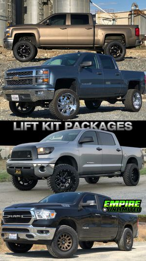 LIFT KIT PACKAGES. PAYMENT OPTIOND for Sale in Ontario, CA