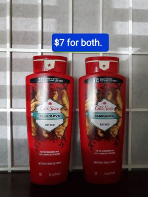 2 old spice body wash BEARGLOVE (21 fl oz) NUEVOS PRECIO FIRME/NO AGO ENTREGAS for Sale in Santa Ana, CA