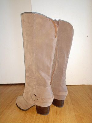 Fergalicious by Fergie - Women's Lexy Western Boot - Taupe 9 M for Sale in Malden, MA