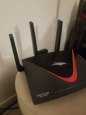 Netgear Nighthawk pro gaming xr700 Router for Sale in Garden Grove, CA