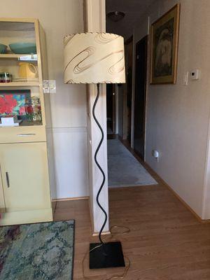 Mid Century Fiberglass Shade Floor Lamp for Sale in Lake Oswego, OR
