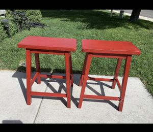 "New set of 2 wooden counter stools 24"" for Sale in West Valley City, UT"