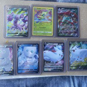 Pokemon Vivid Volatge Ultra Rare Card Lot. AMAZING RARE CELEBI for Sale in Oswego, IL