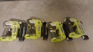 FOR PARTS-Ryobi nail guns P320 18 GAUGE for Sale in Smyrna, GA