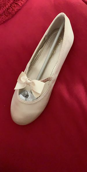 Brand New Girls Flats champagne color for Sale in Norfolk, VA
