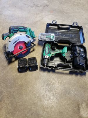 Hitachi 18v power tools for Sale in Naval Air Station Point Mugu, CA