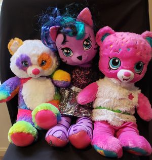3 Build -A-Bear with Shopkins and Rainbow for Sale in Capitol Heights, MD
