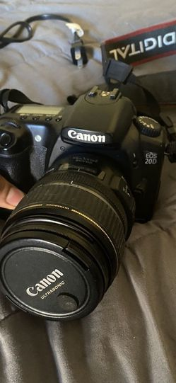 Canon Eos 20D camera Film, Photography for Sale in Long Beach,  CA