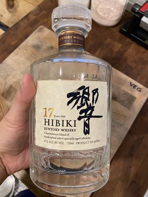 Hibiki 17 Empty Whiskey Decanter for Sale in Los Angeles, CA