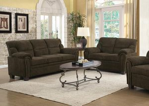 2 piece living room set sofa and loveseat for Sale in North Highlands, CA