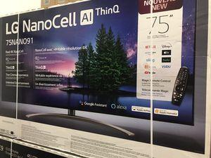 """75"""" lg 4k led nano cell smart tv for Sale in Norwalk, CA"""