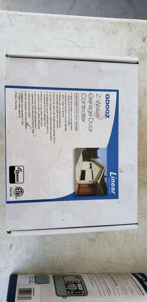 Linear GDOOZ Z-Wave Garage Door Controller, NIB for Sale in Mission Viejo, CA