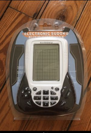 Sudoku handheld game brand new for Sale in West Palm Beach, FL