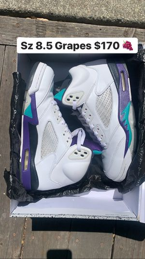 Air Jordan 5 Grapes Retro for Sale in San Pablo, CA