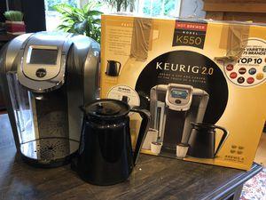 Keurig 2.0 Model K550 like new for Sale in Reston, VA