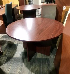 Beautiful Cherry tables .Great for a dining room, basement, entertainment, or office for Sale in Waukesha, WI