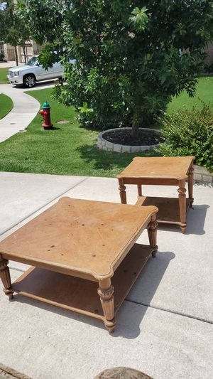 Coffee table and end table for Sale in Pflugerville, TX