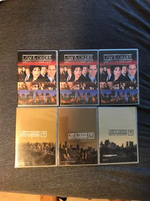 Law & Order SVU Seasons 2 & 9 for Sale in Bowie, MD