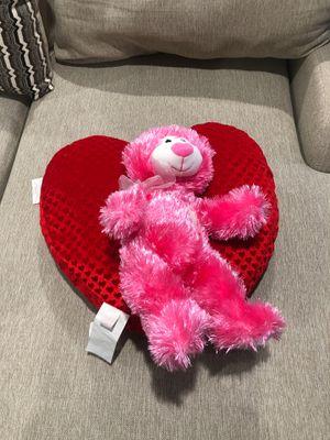 Love Bundle Bear & Heart stuffed animal for Sale in Las Vegas, NV