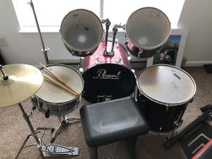 Pearl drum set for Sale in Charles Town, WV