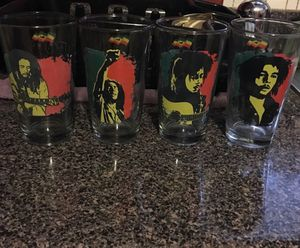 Bob Marley Collectable Glasses for Sale in Fort Worth, TX