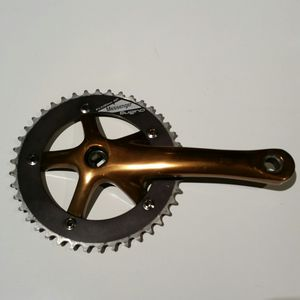 Drive side Crank arm & 42t Sugino Messenger Chainring for Sale in Los Angeles, CA