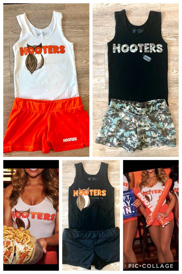hooters uniform halloween costume selection  one of each