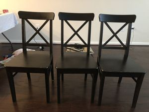 IKEA dining room chairs for Sale in Gaithersburg, MD