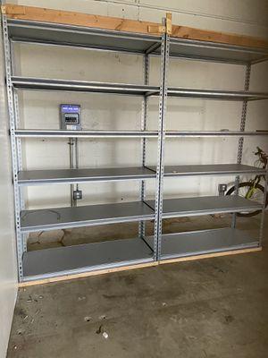 Industrial shelves all metal 48x96 for Sale in Dania Beach, FL