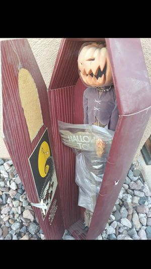 Nightmare Before Christmas Pumpkin King for Sale in Casa Grande, AZ