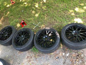 "TSW- TREMBLANT Matte Black (19"" x 8"", +35 Offset, 5x120.65 Bolt Pattern, 76mm Hub for Sale in Waterbury, CT"
