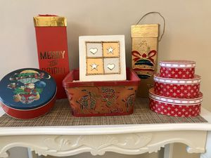 ASST CHRISTMAS GIFT BOXES for Sale in Hilliard, OH
