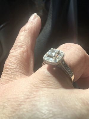 1 k diamond princes cut Engagement Ring for Sale in North Little Rock, AR
