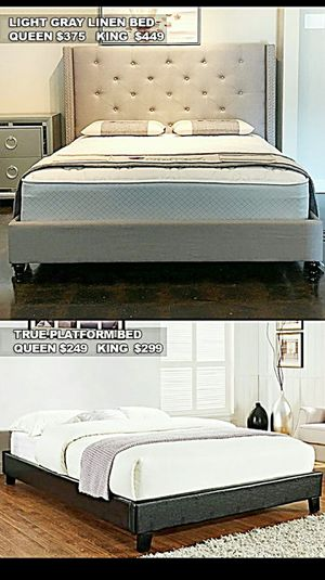 BRAND NEW BEDS FOR SALE WITH MATTRESS AND FREE DELIVERY for Sale in Fort Worth, TX