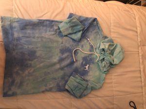 PINK Tie Die Blue Hoodie, x-small for Sale in Lakewood, OH