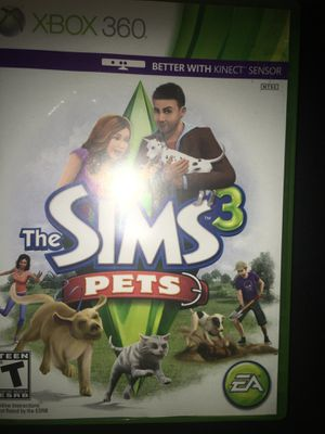 Sims 3 Xbox 360 pets for Sale in Lexington, KY