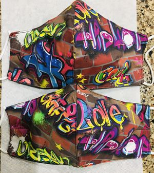 """"""" NEW - """" PROFESSIONALLY MADE !!( NYC GRAFFITI MASK !!! ) - * 3 PREMIUM LAYER PROTECTION / w MEDICAL ELASTIC!!!!!!! for Sale in Orlando, FL"""