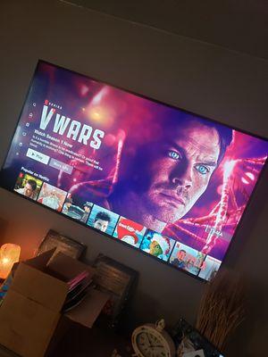 55' 4k smart VIZIO tv $150 OBO for Sale in Ontario, CA